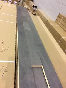 Plancher bois franc merisier gris seulement 1.50$/pc