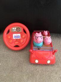 Peppa Pig Drive & Steer Toy