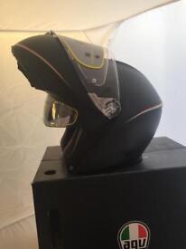 AGV FULL CARBON SPORT MODULAR Tri Colore