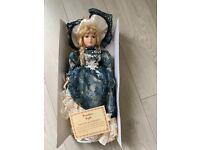 Windsor Collection Genuine Vintage Porcelain Doll (SE6)