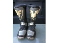Kids boys or girls wulfsport & fly racing boots