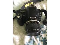 Nikon D40 + Nikon Micro 55mm lens
