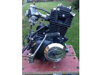 50cc four stroke upright engine for most motorbikes