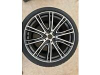 "Genuine BMW 5 Series 20"" M Sport Individual 759i Rear Alloy Wheel & Dunlop Tyre"