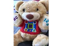 Fisher price abc 123 learn and sing bear