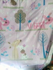 Girls single quilt cover
