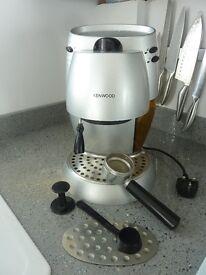 Kenwood coffee machine, model number E5416