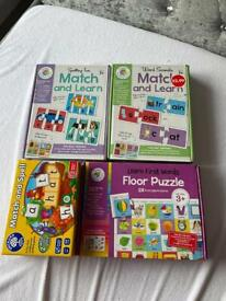 Match & learn puzzles