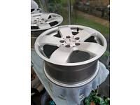 4 Merc alloy wheels