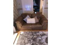 Tan Leather Suite