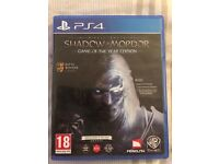 Shadow of Mordor PS4 game
