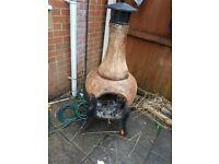 Large cast iron burner