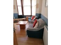 GROUND FLOOR FULLY FURNISHED 1 BEDROOM FLAT FOR RENT IN HAGHILL