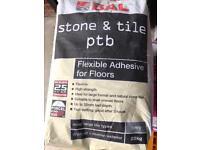 Tile adhesive 20kg bag