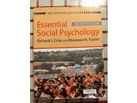 Essential Social Psychology, Second Edition, Crisp and Turner, Second Hand