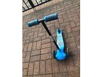 2 children's scooters