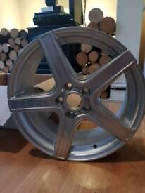 "RH Alurad 17"" 5x108 ET48 Set of 4 Alloy Wheels Brand News"