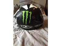 Hjc Rapha 10 monster energy helmet