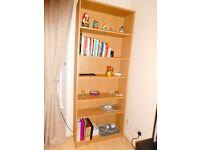 Bookcase BILLY Birch veneer - As new!