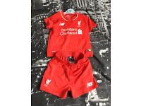 Liverpool football kit 18-24 months.