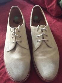 Dr Martin suede men's shoes