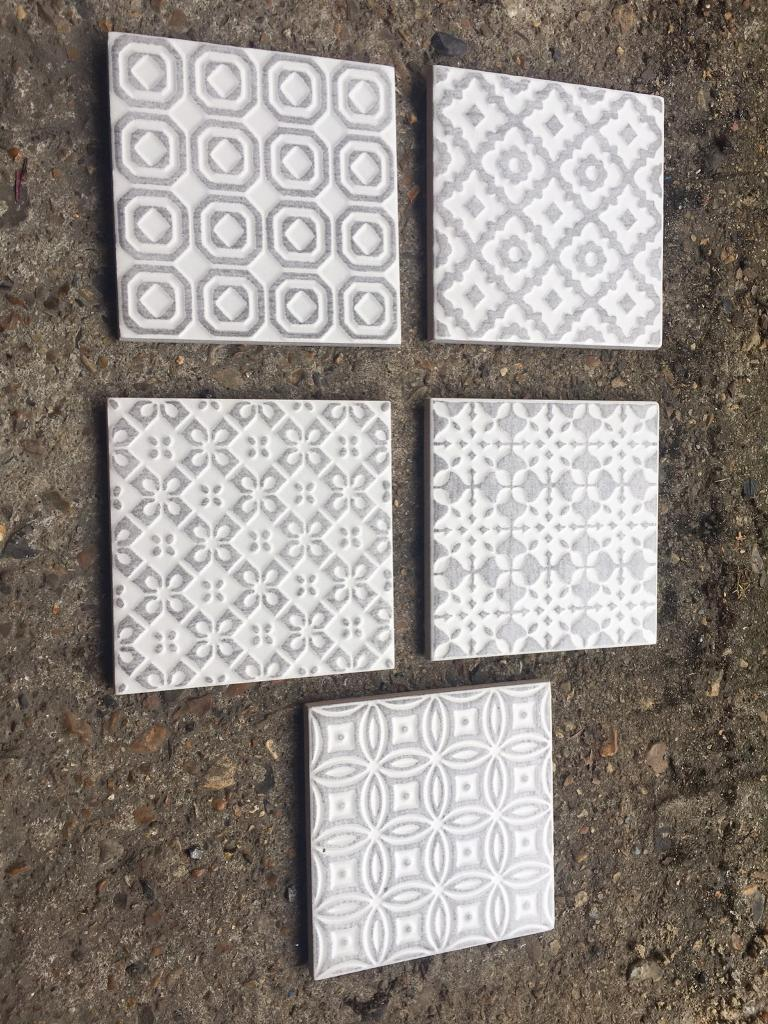 Kitchen Bathroom Tiles Batik Patchwork Topps