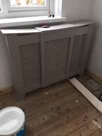Upcycled radiator xover