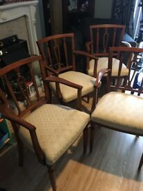 4 Carver chairs