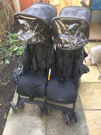 Mac laren double Pram for sale