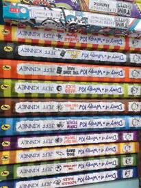 Diary of a Whimpy Kid and Tom Gates books