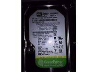 Western Digital 500gb Hard Drive for Desktop PC