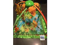 Fisher Price Rainforest play mat baby gym