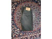 Mens 501 Levi jeans waist 30 length 32