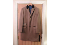 Paul Costelloe 100% Wool Overcoat - Medium