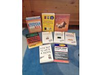 8 writers' books and 'write a novel' kit