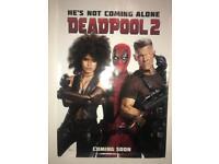 Deadpool 2 poster (trio quad) 2018
