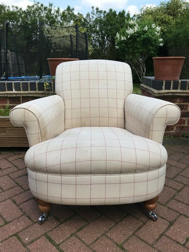Laura Ashley Harbrook Upholstered Occasional Chair ...