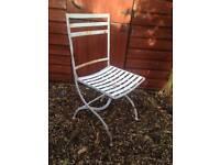 Metal Folding Garden Chair