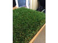 Luxury 30mm Pile Height Artificial Grass Garden Lawn | 4 x 1.5m High Density Fake Turf
