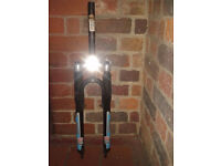 Rockshox Judy Hydracoil suspension forks lightweight adjustable classic retro ATB MTB Aheadset