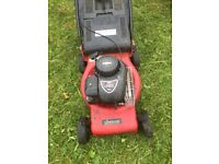 Petrol Lawnmower - used condition - powerful 148cc - Briggs and stratton 450 - sovereign