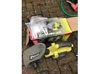 Ryobi 240v planer in box with all accessories