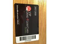 Orlando dine 4 less card