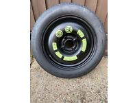 Space saver spare wheel and tyre 15 inch