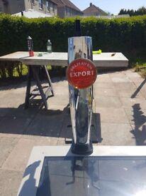 Bar beer pumps