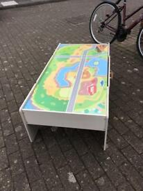 Play train table
