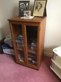 Teak Music Cabinet