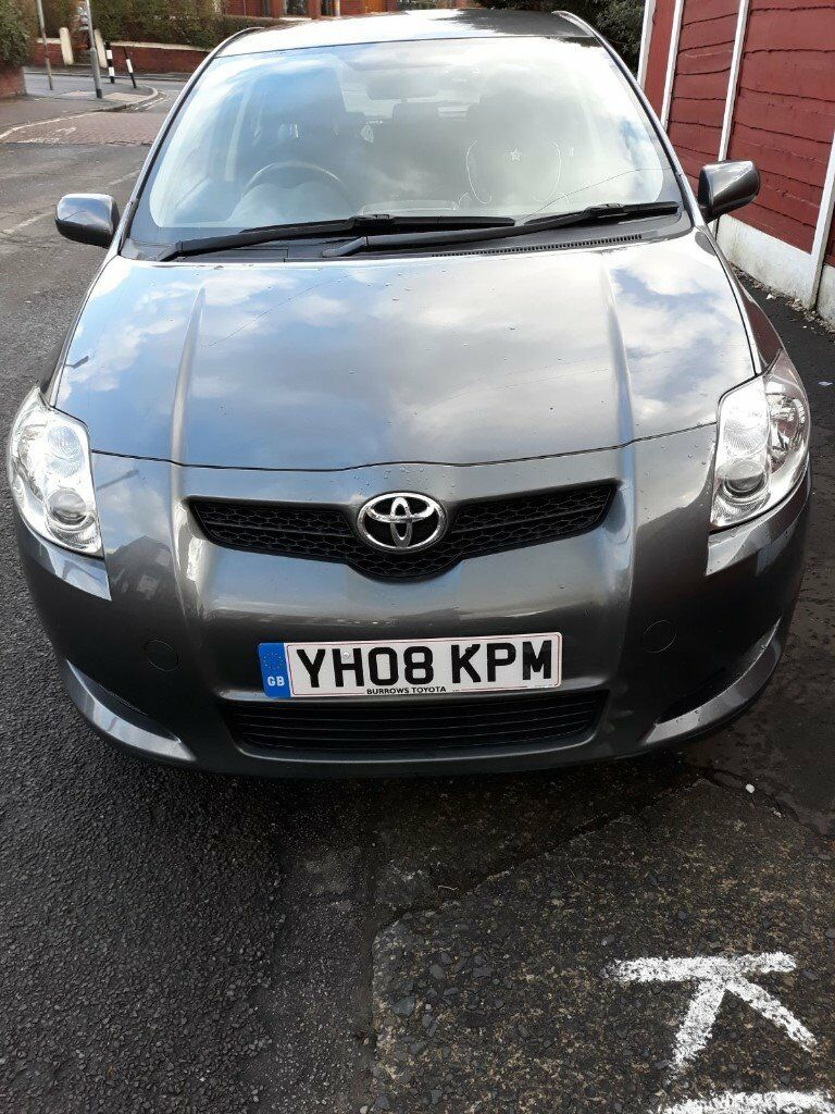 toyota auris 2008 grey in cheetham hill manchester gumtree. Black Bedroom Furniture Sets. Home Design Ideas