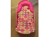 Pink summer infant travel bath seat