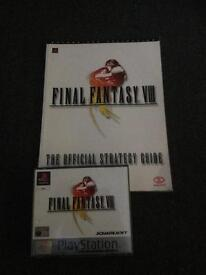 Final Fantasy 8 And Guide Book